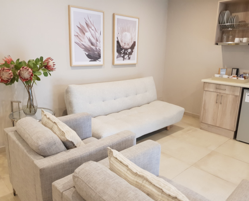 Honeymoon Suite Seating Area